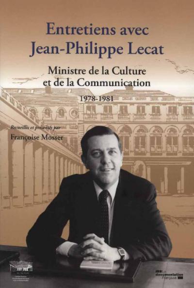 Couverture des Entretiens avec Jean-Philippe Lecat