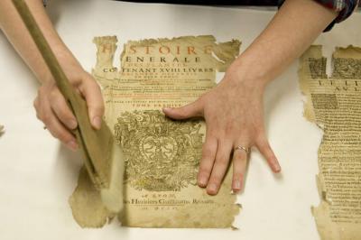 La restauration du papier