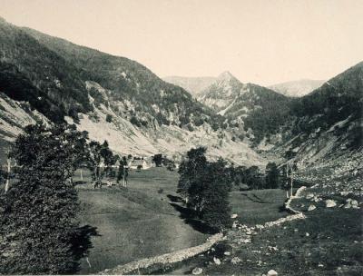 Vue champêtre de la vallée de la Wormsa