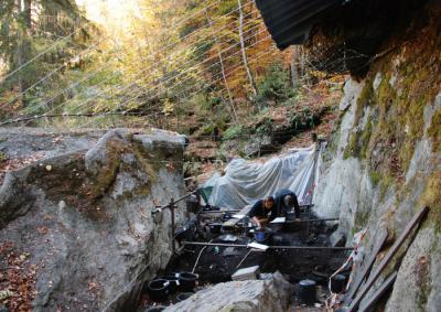 Le Chenet des Pierres (Bozel, Savoie)