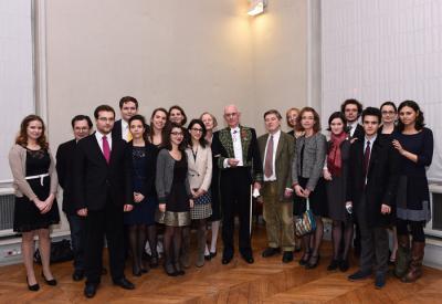 Proclamation des archivistes paléographes (prom.2014) à l'Institut de France