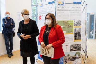 Marion Lavaux (prom. 2019) inaugure le Mémorial de Haute-Alsace