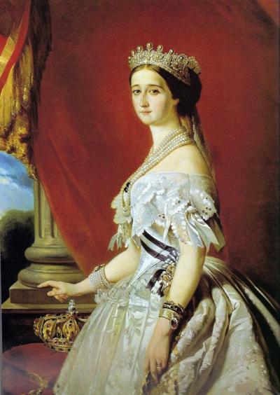 Portrait de l'impératrice Eugénie