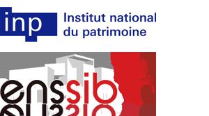 Logos de l'Inp et de l'Énssib