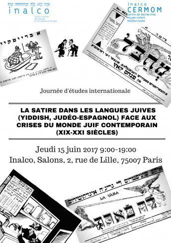 Congrès international «La satire dans les langues juives»