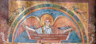 Évangiles de Saint-Riquier, Abbeville, BM Ms. 4, fol. 17v