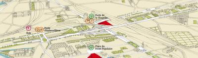 Les terrains du Campus Condorcet