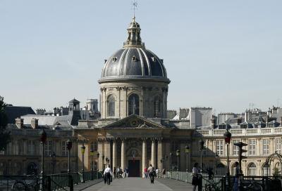 L'Institut de France, où siège l'Académie des sciences morales et politiques
