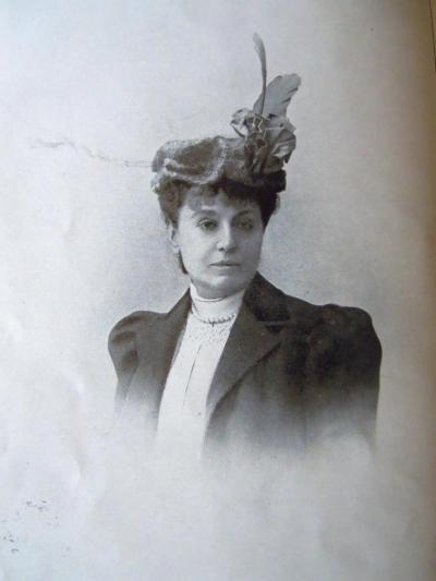 Marie-Louis Peyrat, marquise Arconeti-Visconti (scan d'une vieille photographie)