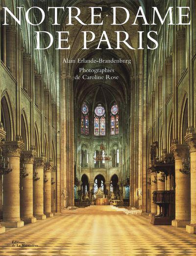 Couverture de l'ouvrage Notre-Dame de Paris par Alain Erlande-Brandenburg