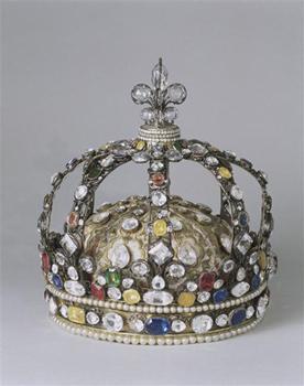 Couronne de Louis XV dite Couronne personnelle de Louis XV