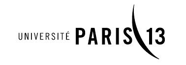 Logo de l'université Paris 13