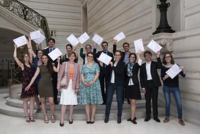2018 Archivist-Palaeographer Graduation Ceremony