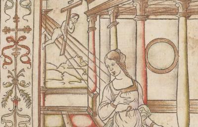 Heures, à la louange de la vierge Marie, selon l'usage de Rome (Paris, G. Tory, 1525)