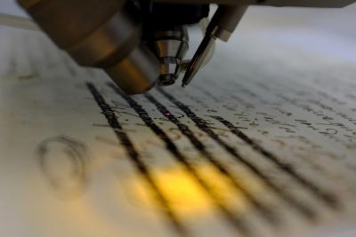 «Ecritures masquées/Écritures révélées: la correspondance de Marie-Antoinette aux rayons X»