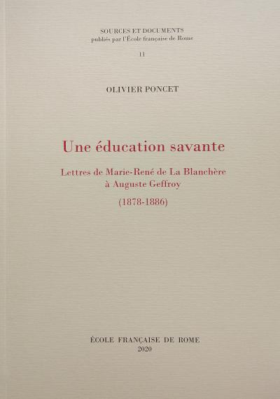 Couverture de l'ouvrage Une éducation savante