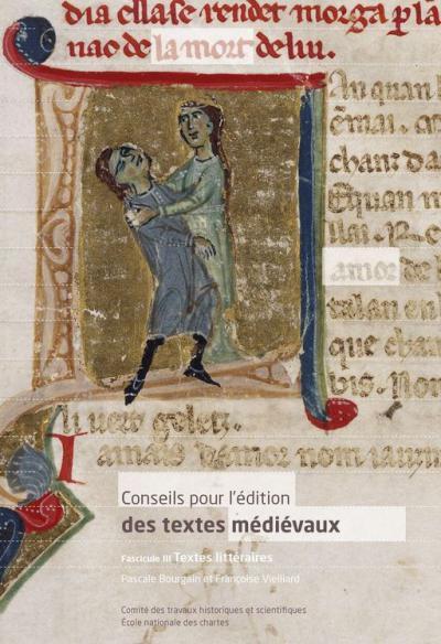 Couverture de Conseils pour l'édition des textes médiévaux (fasc.3)