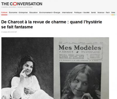Manon Lecaplain (4e année) publie un article dans The Conversation