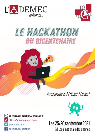 Affiche du hackathon