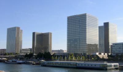 Vue du site François-Mitterrand de la BnF