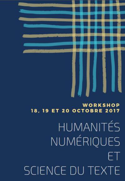Workshop «Humanités numériques et science du texte»