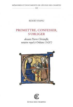 Couverture de Promettre, confesser, s'obliger