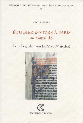 Couverture de «Étudier et vivre à Paris au Moyen Âge»
