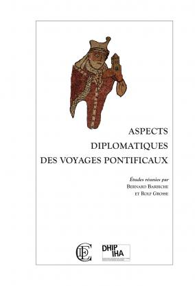 """Couverture de """"Aspects diplomatiques des voyages pontificaux"""""""