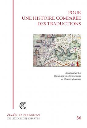 """Couverture de """"Pour une histoire comparée des traductions"""""""