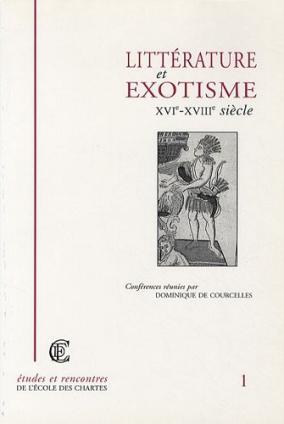 Couverture de «Littérature et exotisme, (XVIᵉ-XVIIIᵉ siècle)»