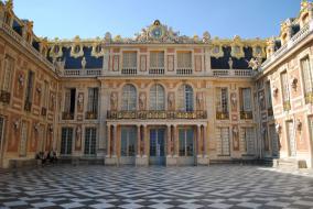 Cour de marbre, Château de Versailles