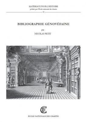 Couverture de l'ouvrage Bibliographie génovéfaine