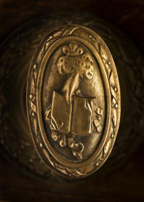 Doorknob, Sorbonne (Henri-Paul Nénot, end of the 19th century)