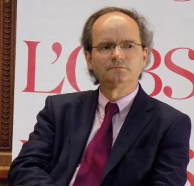 Olivier Boudon lors du forum «L'année vue par l'histoire» organisé par France Culture le 25 avril 2015