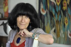 Portrait de Mireille Calle-Gruber par Jérôme Panconi, avec son aimable autorisation
