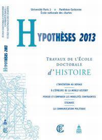 Hypothèses 2013