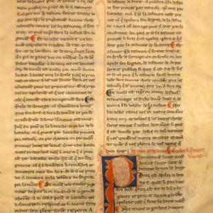 Le livre de jostice et de plet  © Paris, Bibliothèque nationale de France, français 2844 (feuillets 4r et 110r)