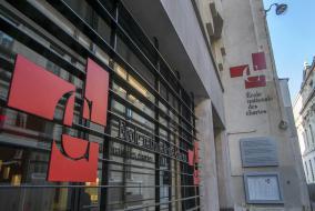 The School's facade, at 65, Rue de Richelieu