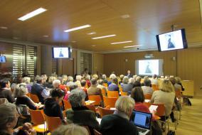 Salle Léopold-Delisle, conférence de Jean-Pierre Babelon