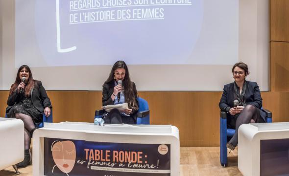 Table ronde «Regards croisés sur l'écriture de l'histoire des femmes»