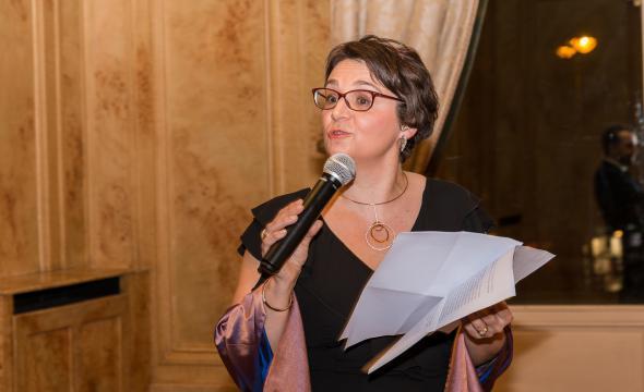 Discours de Michelle Bubenicek, directrice de l'École