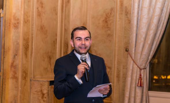 Discours de Jean-Charles Bédague, secrétaire général de la Société de l'École des chartes