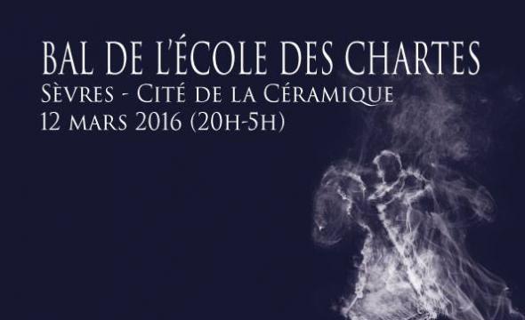 Affiche du bal 2016 de l'École des chartes