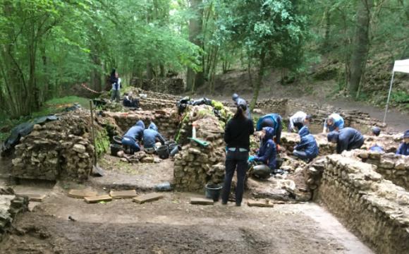 Chantier-école d'archéologie 2021