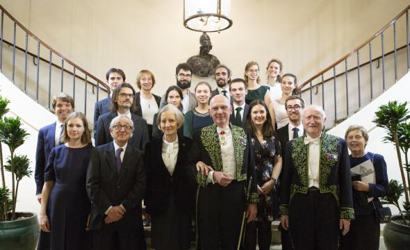 Les diplômés 2018 sous la coupole de l'Institut de France