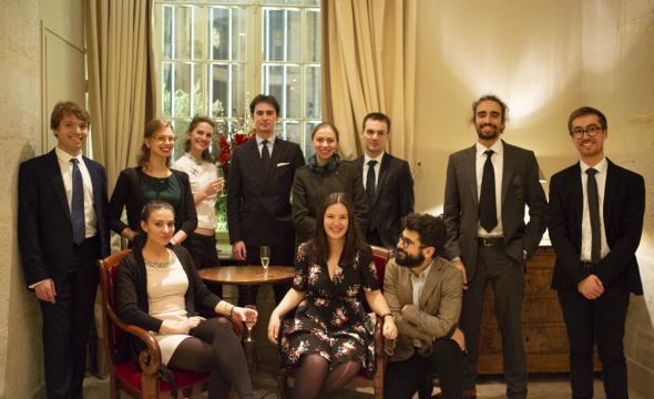 Les diplômés 2018 à l'Institut de France