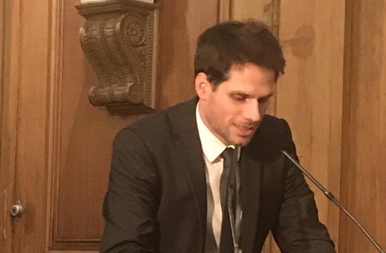 Arnaud Georges Desvignes reçoit le second prix pour sa thèse