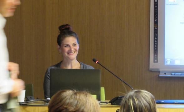 Conférence d'Isabelle Abadie aux 6e Journées nationales d'archéologie