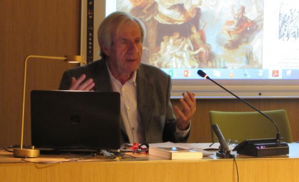 Conférence «Comment raconter l'histoire de France?» avec Dominique Borne