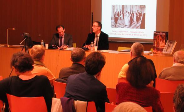 Débat autour du livre de Fabien Oppermann (prom. 2004) Le Versailles des présidents. 150 ans de vie républicaine chez le Roi-Soleil avec Alexandre Gady